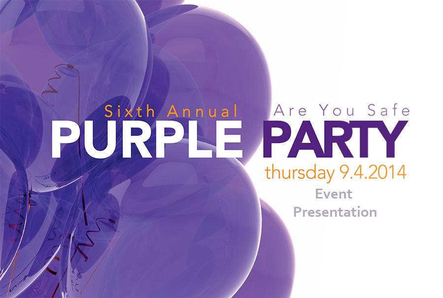 2014 Purple Party - Event Presentation